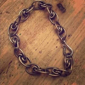 Jewelry - Handcrafted Silver bracelet artist stamped